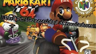 Descargar Mario Kart 64 sin emulador