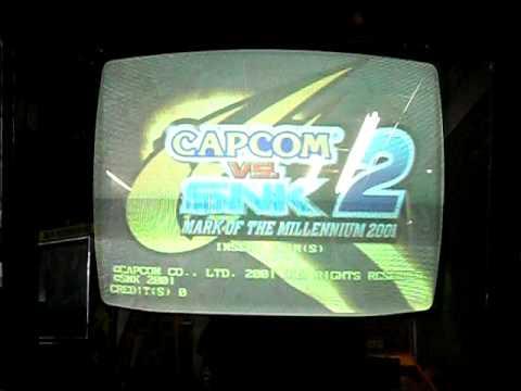 Capcom vs Snk 2 millionaire fighting 2001 Arcade Internet Auction