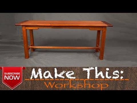 Make This: Outdoor Bench