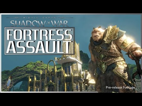 MIDDLE-EARTH: Shadow of War  NEW GAMEPLAY | Fort Assault