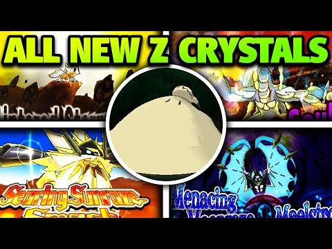 How & Where to Get ALL NEW Z Crystals in Ultra Sun & Moon – New Z Crystal Locations Ultra Sun & Moon