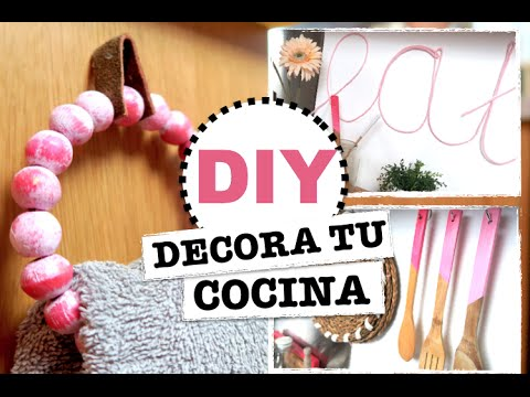 DIY | KITCHEN DECORATION | EASY AND CHEAP! ♡ STEFFIDO