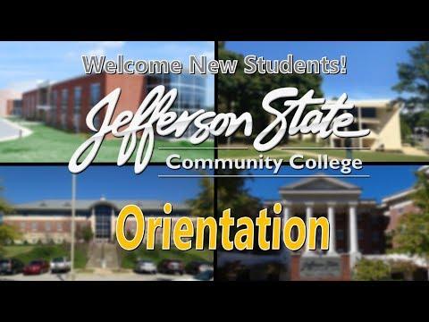 New Student Orientation - Jefferson State Community College