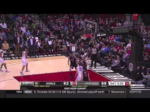 Ben Simmons - 2015 Nike Hoop Summit Highlights vs USA | 13 pts, 9 rbs, 9 asts