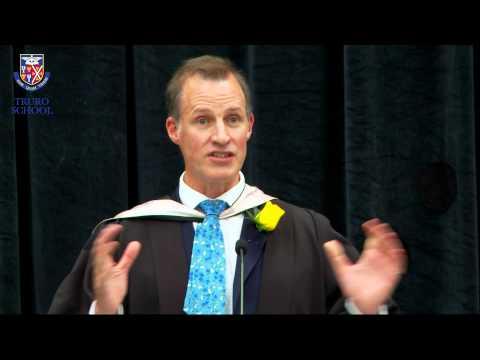 Andrew Gordon-Brown, Truro School Headmaster, at Speech Day 2015