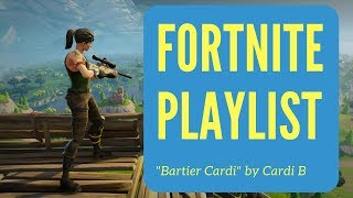 "Fortnite Kills To ""Bartier Cardi"" by Cardi B."