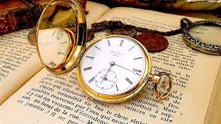 18金無垢なアンティーク懐中時計