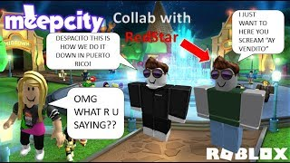 Trolling at MeepCity by Singing Despacito. (Trolling as Iamnothappykarateman in Roblox)