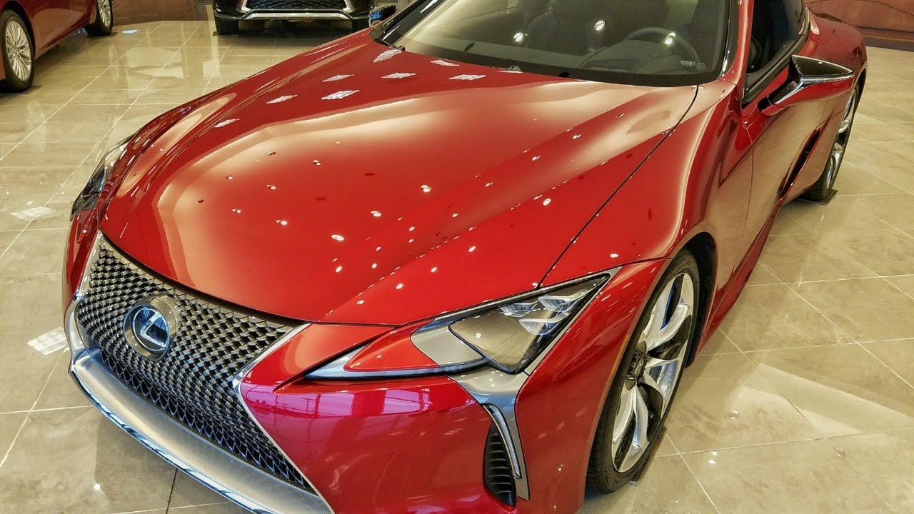 2018 Lexus Lc 500 Review Interior Exterior Engine Sound Exhaust In