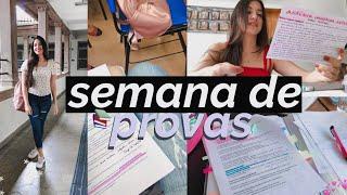Study Vlog: Semana de Provas | Luciana de Farias