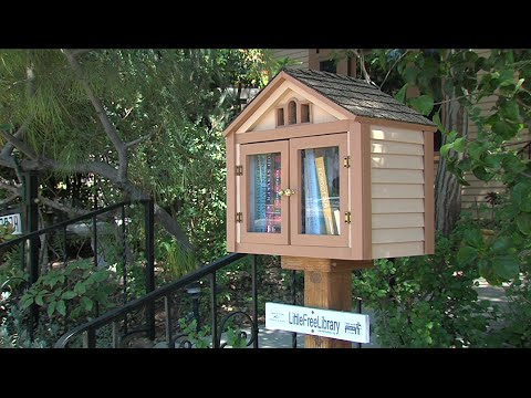 San Diego Home To Almost 100 Little Free Libraries