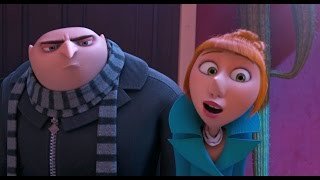 Despicable Me 2 - Gru & Lucy vs El Macho's Chicken Scene - Minions moments series