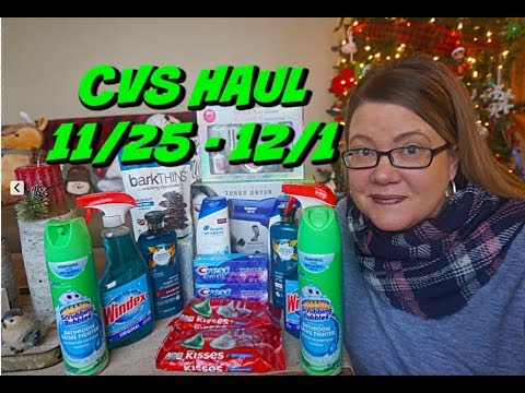 CVS HAUL 11/25 - 12/1 | Some easy freebies this week!