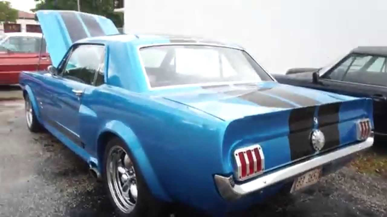 voitures americaines par sylc export 1965 ford mustang youtube. Black Bedroom Furniture Sets. Home Design Ideas
