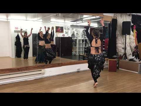 #4 FCBD® Friday Flow with Michiyo - Turkish Shimmy 1/2 & 1/4 turns