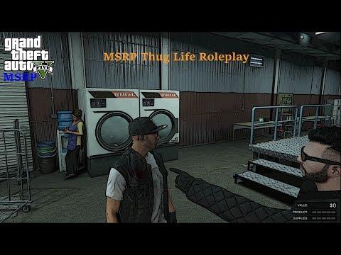 Gta 5 MSRP Thug Life Roleplay Ep 4 | Money Laundering