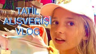 Tatil Alışverişi Vlog. Ecrin Su Çoban