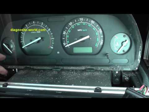 Land Rover Freelander Dash Speedo Cluster Clocks Removal Guide