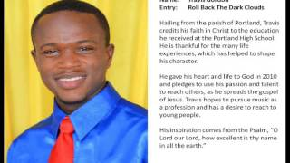 Jamaica Gospel Song Finalist 2014 - Travis Gordon - Roll Back The Dark Clouds