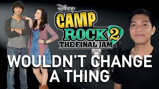 Wouldn't Change A Thing (Shane/Joe Part Only - Karaoke) - Camp Rock 2
