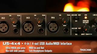 TASCAM USB Interfaces for 2015