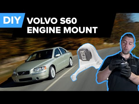 How To Replace The Engine Mounts On A Volvo S60