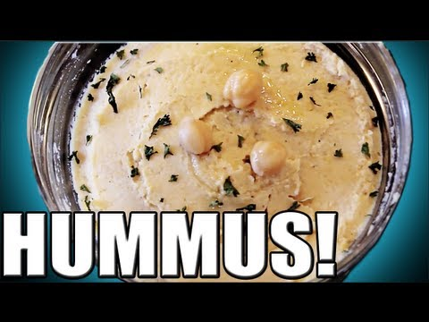 HEALTHY HUMMUS RECIPE IN UNDER 5 MINUTES!