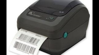 Setting up GK420d label printer