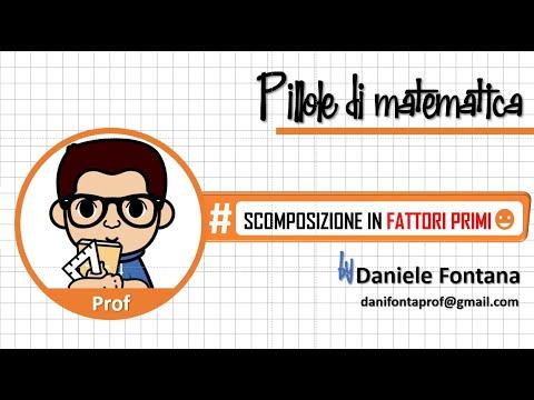 Cl 2 Radicali IX. Scomposizione in fattori primi. from YouTube · Duration:  4 minutes 2 seconds