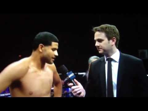 Absolute best and funniest boxing post-fight interview w Atruro Trujillo