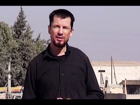 Isis video shows hostage John Cantlie claiming battle for Kobani nearly over