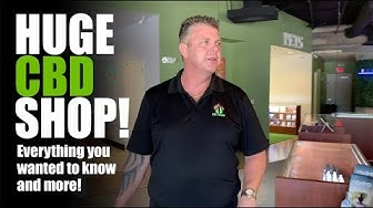 The largest CBD shop in the country is in Bakersfield, Ca.