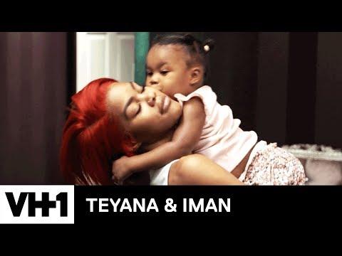 Baby Junie Helps Iman Pack 'Sneak Peek' | Teyana & Iman