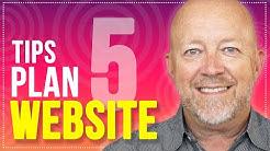 Website Design Tips: How To Plan & Design A Website