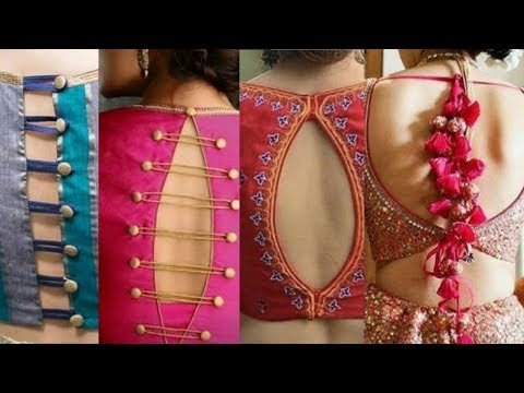 New Latest Blouse Design 2020 Beautiful Blouse Back Neck Designs Latest Bridal Blouse Design Youtube