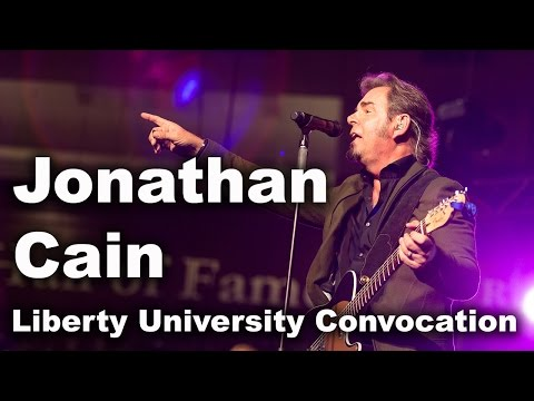 Jonathan Cain - Liberty University Convocation