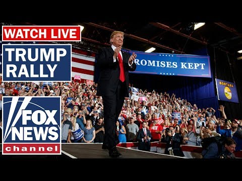 President Trump Holds Keep America Great Rally In Phoenix