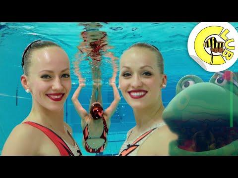 Coole Action im Wasser - Synchronschwimmen | Tigerenten Club | SWR Kindernetz