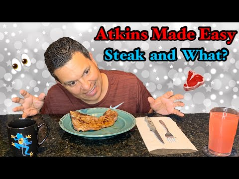 atkins-keto-diet-made-easy🥗-what-i-eat-for-dinner🥩🥗-steak-and-salad