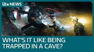 What is the psychological impact of being trapped in a cave? | ITV News