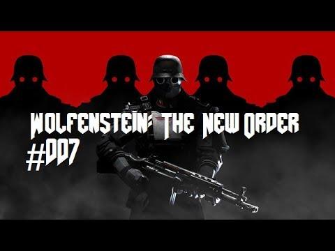 Let's Play Wolfenstein: The New Order #007 German - Flucht aus der Anstalt
