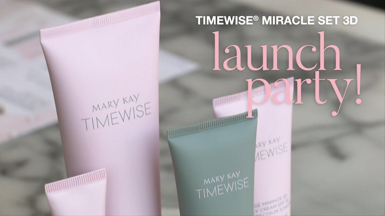 timewise 3d pr event77057 Apresentacao Mary Kay #1