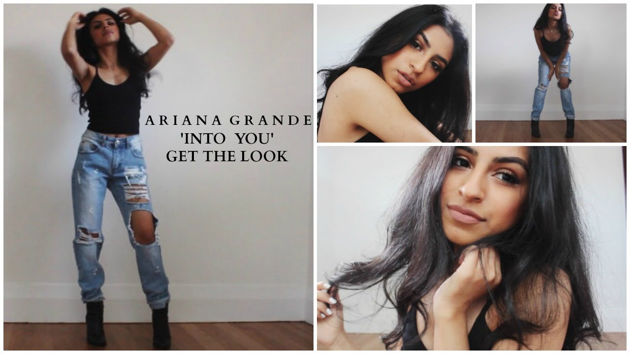 Ariana Grande Quot Into You Quot Music Video Makeup Hair Outfit