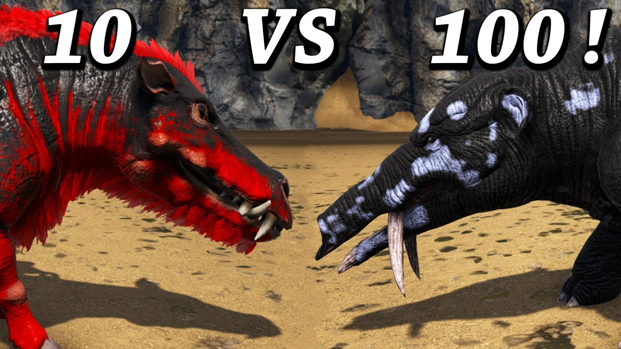 Ark Survival Evolved Daeodon Taming Breeding Baby Hell Pig Patch 257 S3e13 By Mago Megapithecus tame vs ice diety! ark survival evolved daeodon taming