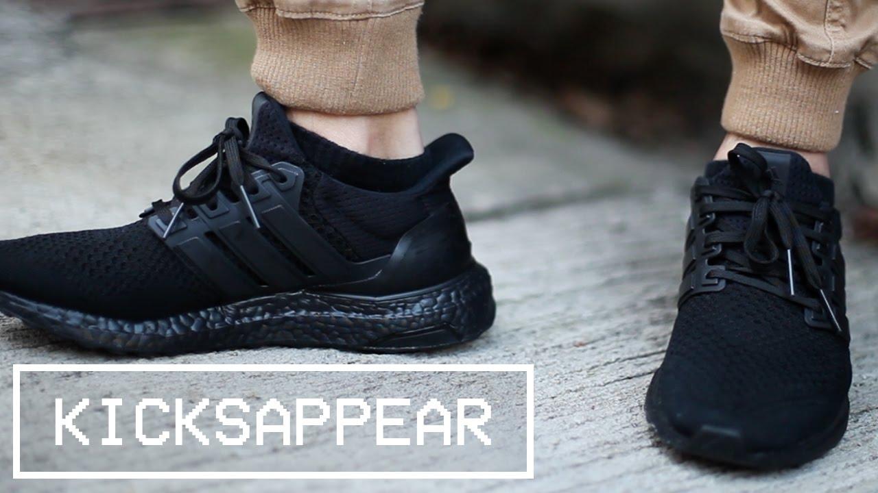 Feet: Adidas ULTRA BOOST \