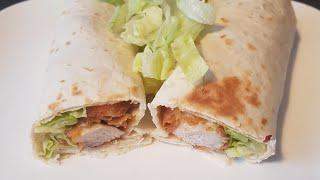 chicken wrap chicken zinger kfc style chicken...اسهل وألذ طريقة لعمل دجاج الزنجر كنتاكي