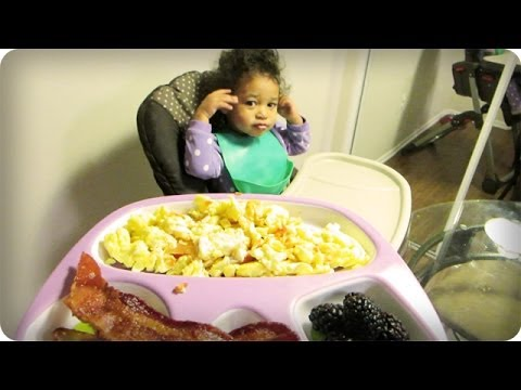 COOKING BREAKFAST WITH TODDLERS | DADventures: The Nive Nulls