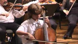 Daniel Hass (9)-J.C Bach Cello Concerto in C Minor mov.2