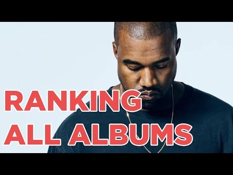 RANKING ALL OF KANYE WEST'S ALBUMS