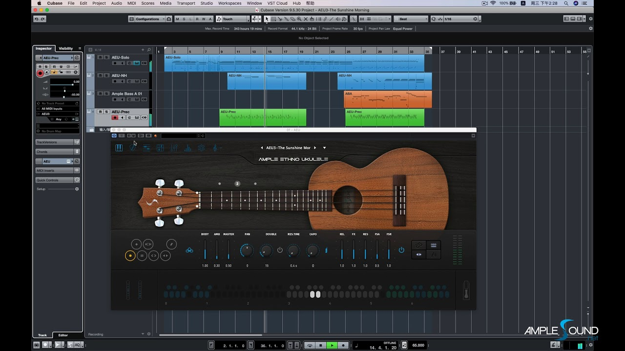 Ample Sound Ample Ethno Ukulele III v3 00 [WIN-MAC] | Go AudiO